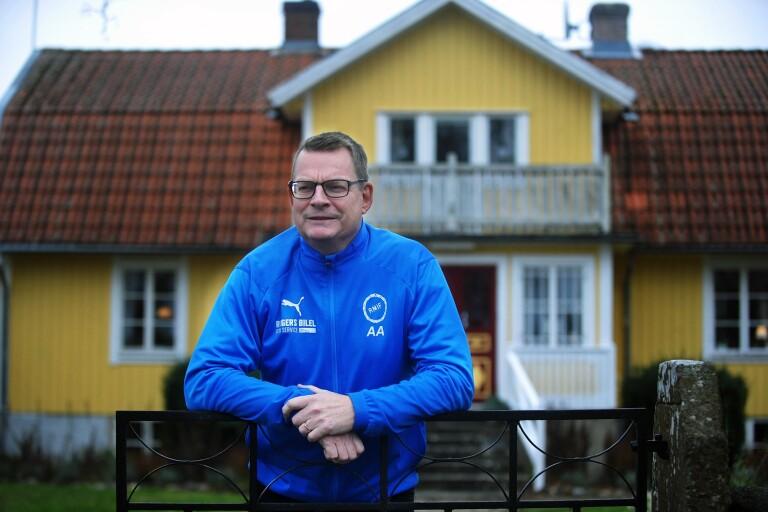 Anders Arvefalk, ordförande RM IF är tillbaka på jobbet efter en tre veckor lång sjukperiod med covid-19.