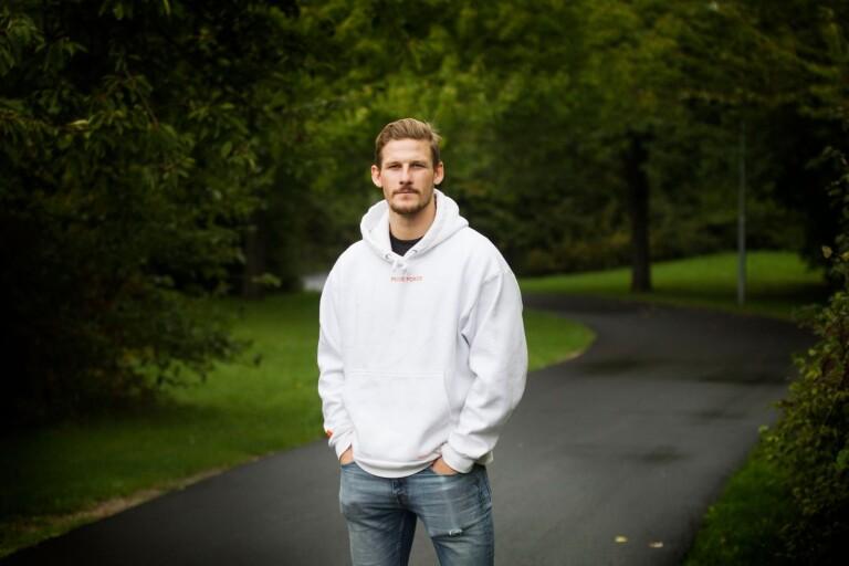 Hampus Olsson har tagit långa vägen till toppen