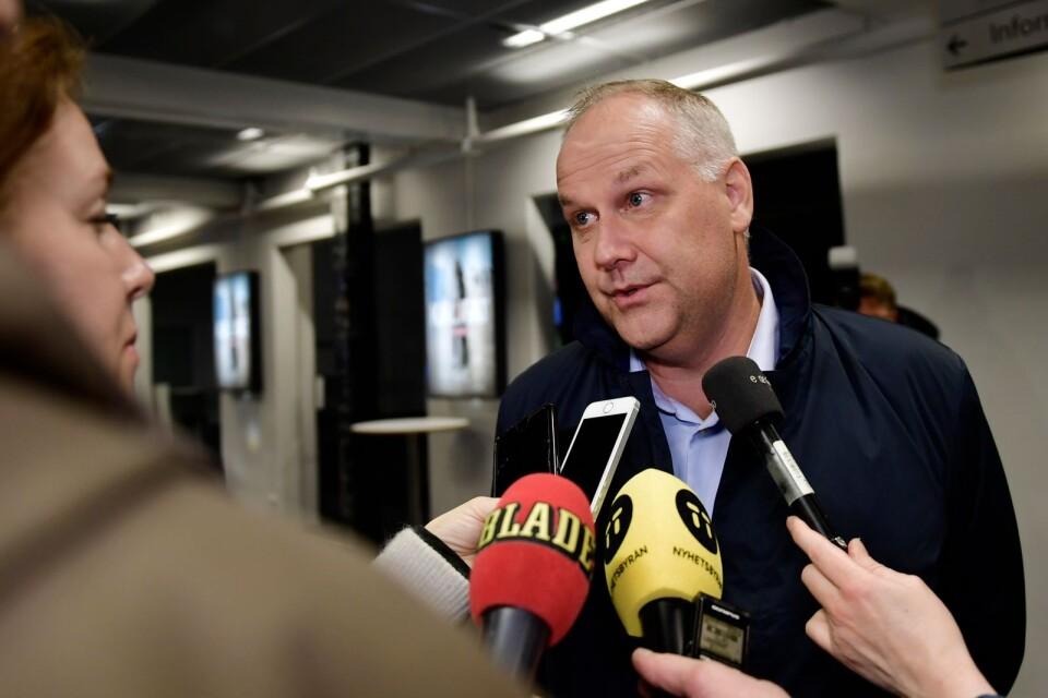 Jonas Sjöstedt var den förste V-ledare som inte var historiskt belastad.