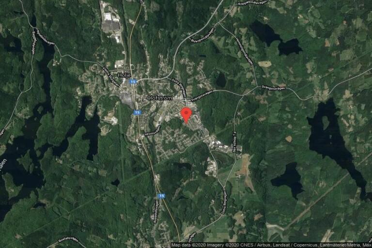 95 kvadratmeter stort kedjehus i Olofström sålt för 600000 kronor