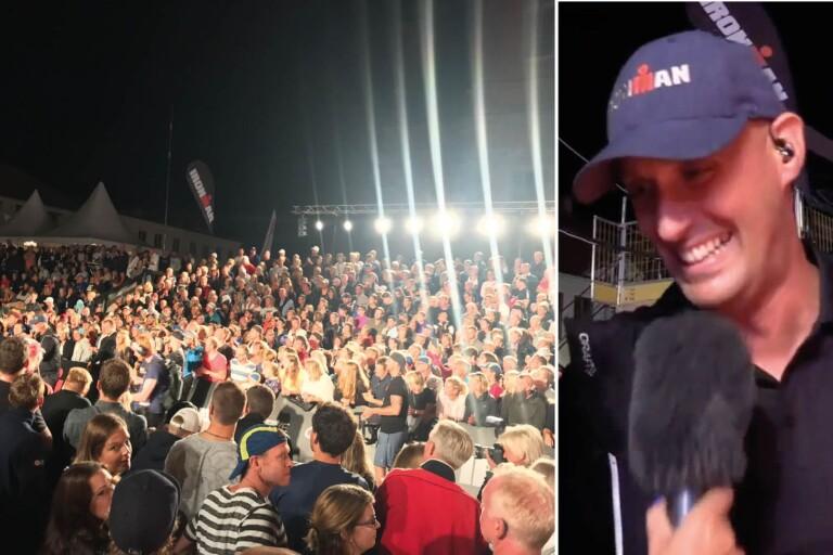 """Publikfesten: """"Vi får bygga större läktare till nästa Ironman"""""""