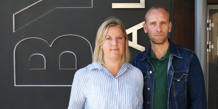 Byteaterns Linda Stenberg och Daniel Rylander.