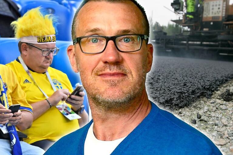 Krister Persson: Fotboll är tråkigt