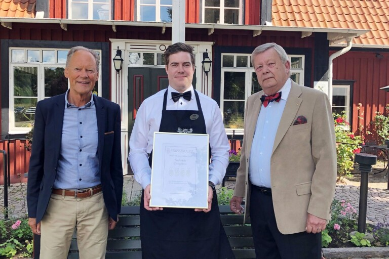 Dubbla utmärkelser till Stufvenäs Gästgifveris vinkällare