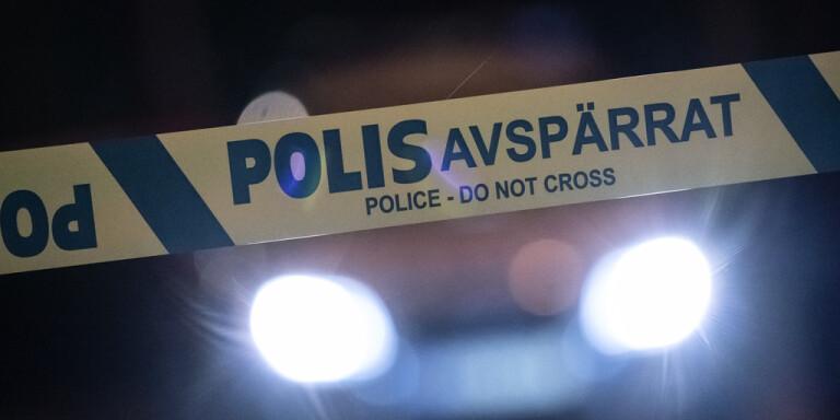 Flera bilar är inblandade i en trafikolycka på E6 mellan Hofterup och Saxtorpsskogen i Skåne. Genrebild.