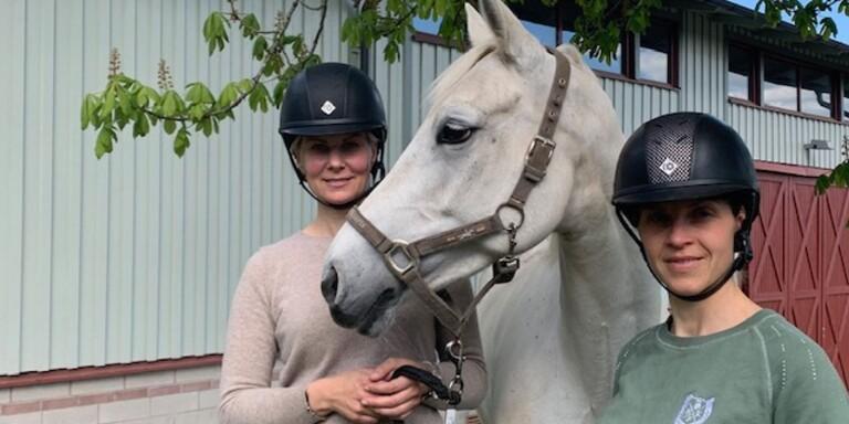 Sara Eriksson och Malin Nilsson.