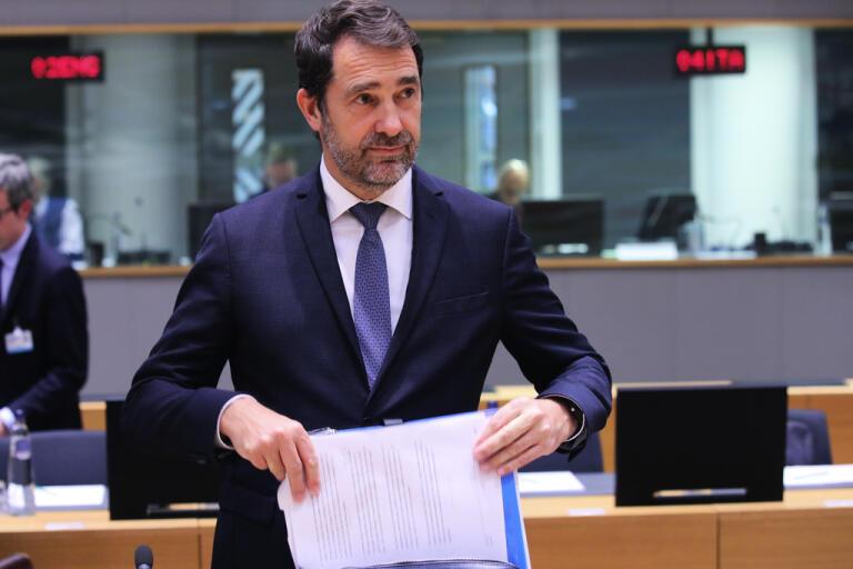 Frankrikes inrikesminister Christophe Castaner. Arkivbild.