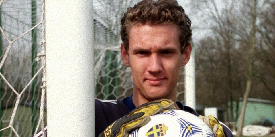 Andreas Isaksson inför den allsvenska debuten 1999.