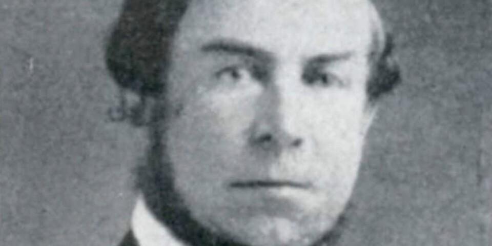 Kronofogde Johan Henrik Eneman var ägare till Rosenfors mellan 1858 och 1874. Under hans tid bodde kung Karl XV hos honom under tre höstar i samband med Kungliga jaktklubbens ölandsresor. Foto från 1870.