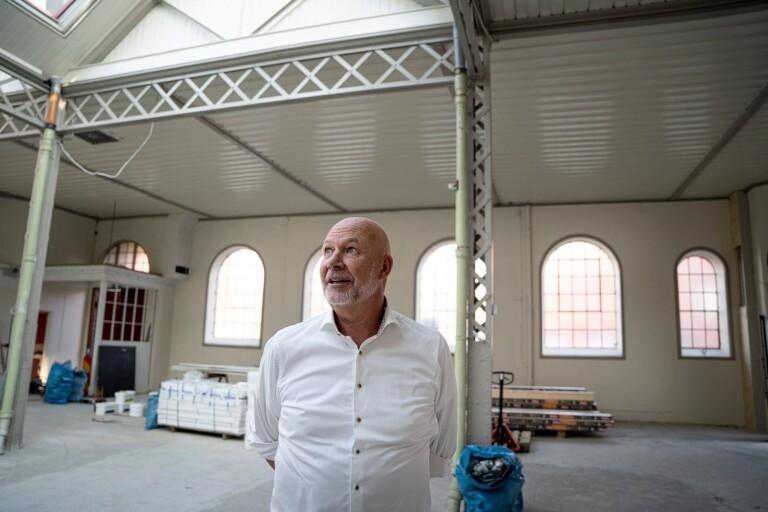 """Ystadsprofil ska fylla Saluhallen med mat och musik – """"Längtar efter att få komma igång"""""""