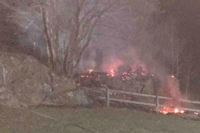 Man frias efter misslyckad eldning – kunde bara bränna ner sitt eget hus