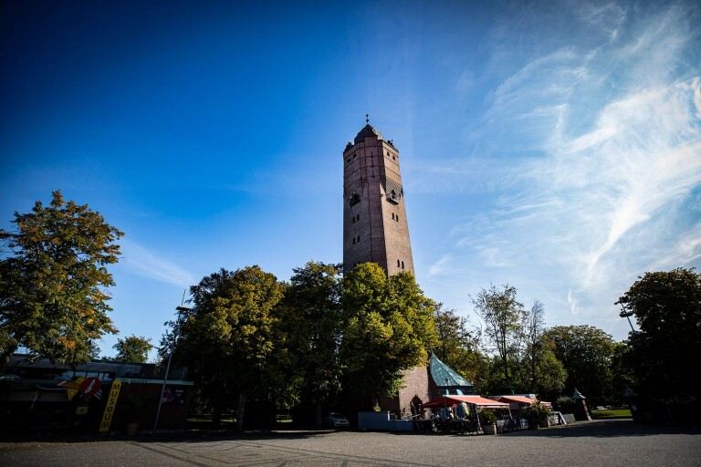 Vattentornet är Trelleborgs högsta byggnad.