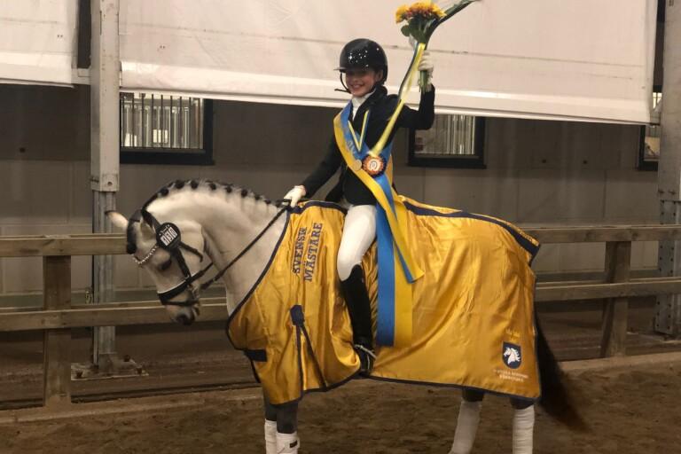 Sydslättentalang vann ponny-SM
