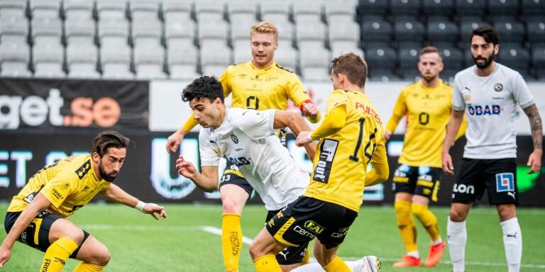 Utlånade Deniz Hümmet ordnade straff till Örebro när han revs ner i straffområdet i den 16:e minuten. Några minuter senare assisterade han Rasmus Karjalainen till 2–1.