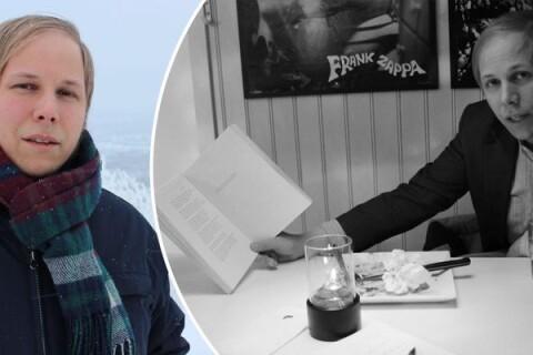 """David Väyrynen: """"Jag ville skriva som de pratar här"""""""