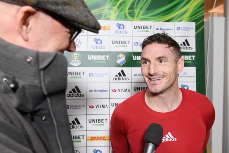 """TV: """"Det är kul med fotboll just nu"""" säger Östers James Keene"""