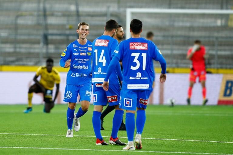 Drömmål när Mjällby klarade oavgjort mot Elfsborg