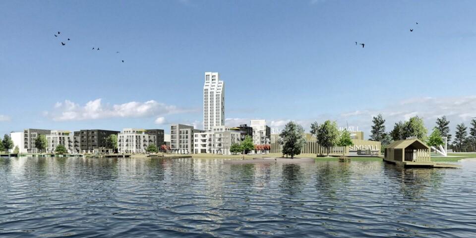 Våren 2019 presenterade APP Properties arkitektskisser på en helt ny stadsdel vid Växjösjöns östra strand, men idén fick kalla handen av den politiska ledningen. Lennart Dageborn tycker det är dags att titta på förslaget igen.