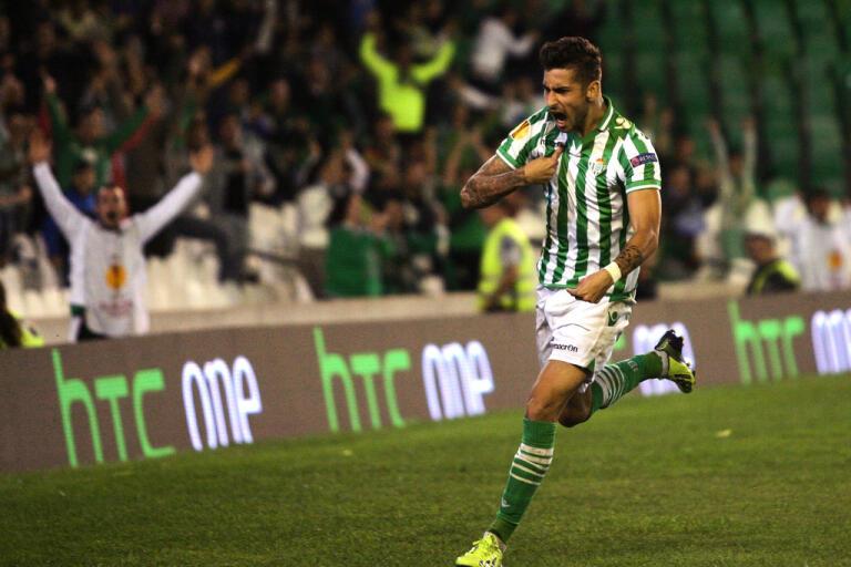 Real Betis och övriga spanska ligaklubbar spelar snart fotboll igen. Arkivbild.