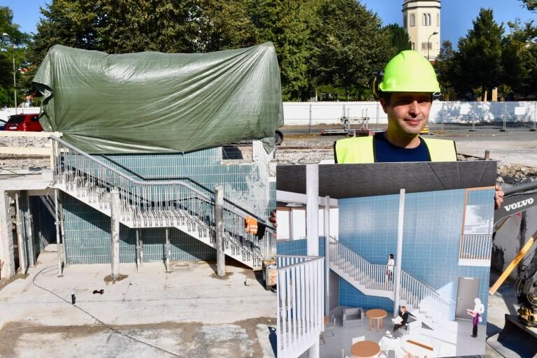 Bildspel: Nytt bygge på torget tar historien med in i framtiden