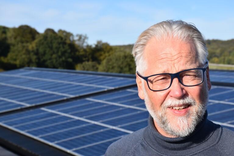Här byggs kommunens största solcellspark