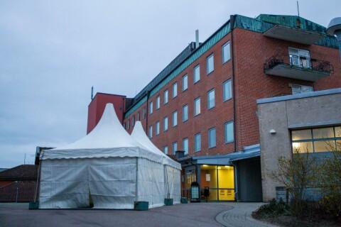 Covid-19: Färre coronasmittade vårdas på Trelleborgs lasarett