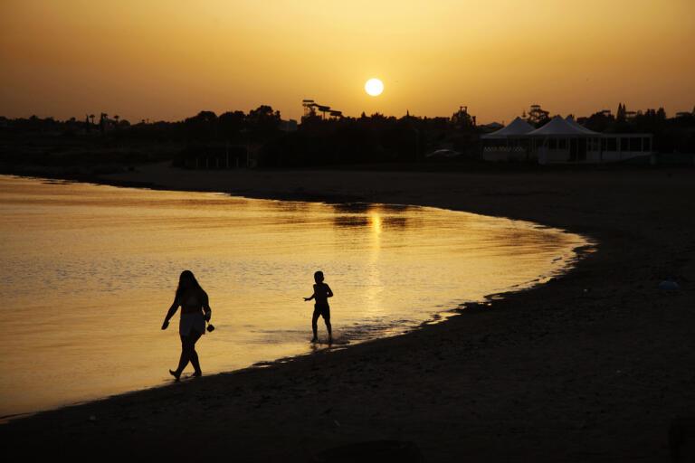 Cypern hoppas att fler turister kommer att återvända snart. Arkivbild.