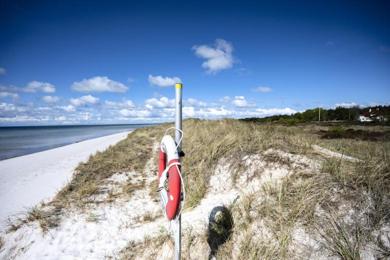 En ny rättslig prövning väntar om det planerade översvämningsskyddet på Falsterbonäset i Skåne. Arkivbild.