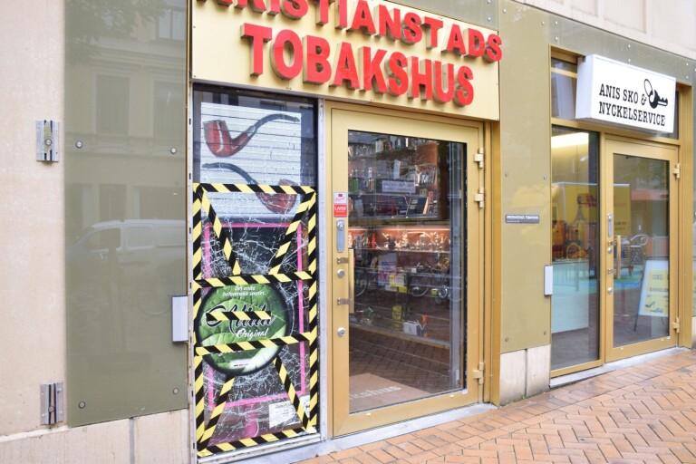 """""""Har aldrig fått några hot"""" – butiksägaren skärrad efter explosionen"""