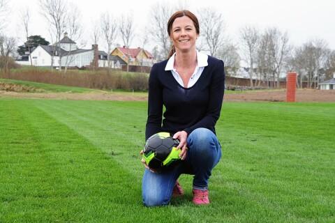 """Ölands nya fotbollsplan: """"Ska ha Sveriges bästa gräs"""""""