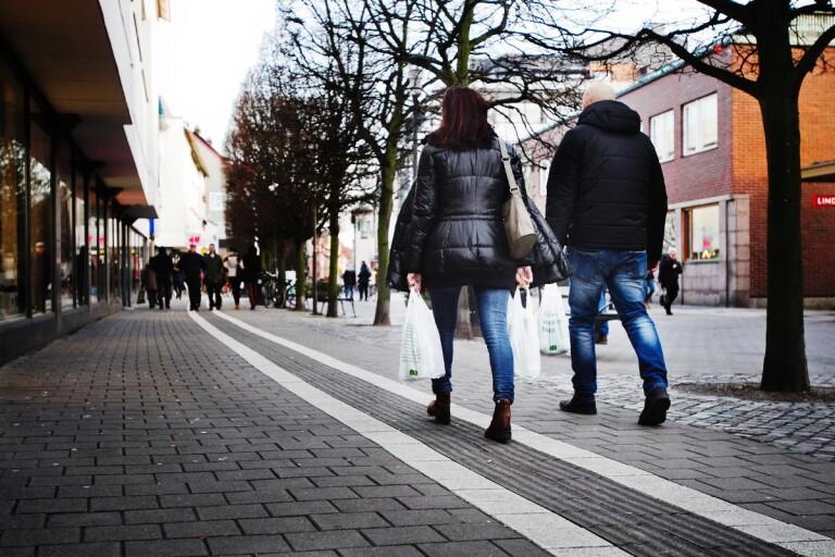 Unik ökning för modehandeln i Trelleborgs stadskärna