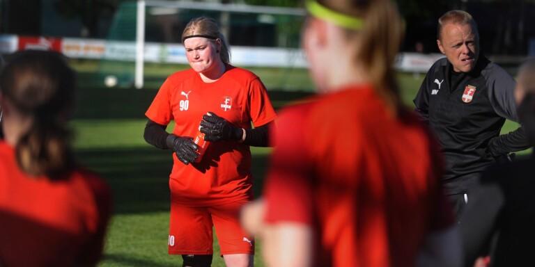 Josefine Lönn är på god väg tillbaka från sin knäskada.