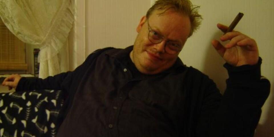 Ola Julén mejlade själv in den här bilden på honom, för att användas i sammanhanget av Veckans dikt på kultursidan.
