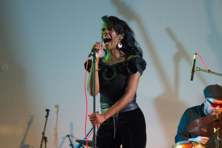 Bonita & The Blues Shacks spelade på Ronneby cityhotell i onsdags.