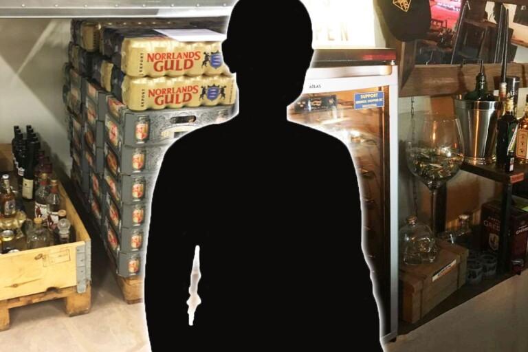 Säs-anställd åtalad för att ha drivit stor svartklubb – tidigare dömd för knark