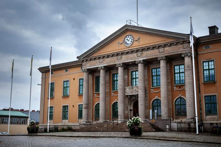 Blekinge tingsrätt i Karlskrona 2019 08 15 Tingsrätten, tinget, tingshuset, lag, dom, rätt, brott straff rättsväsende, lagar, polis, advokat, åklagare