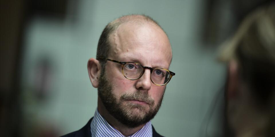 Åklagaren Henrik Olin yrkar på villkorlig dom för Anna Lindstedt.