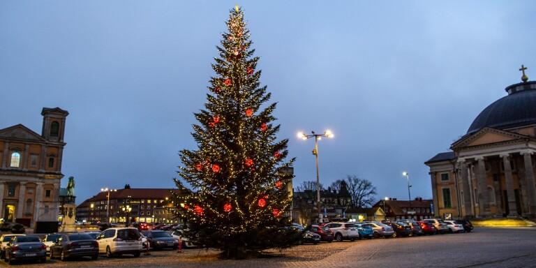 Nu tänds staden inför julen