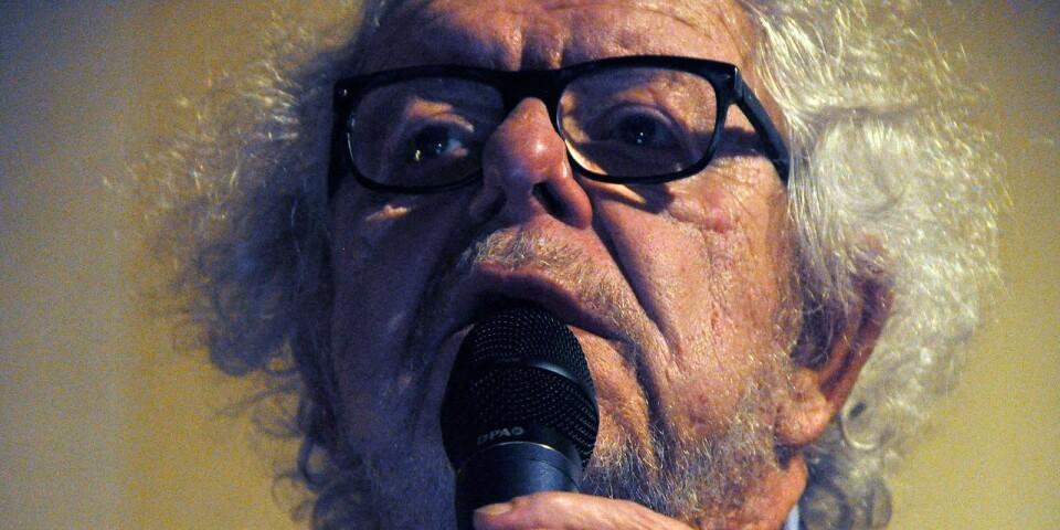 Claes Janson gjorde succé när han uppträdde på Borgholms Bio i helgen.