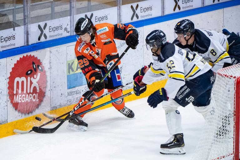 Rasmus Olofsson gjorde två mål mot Mora.