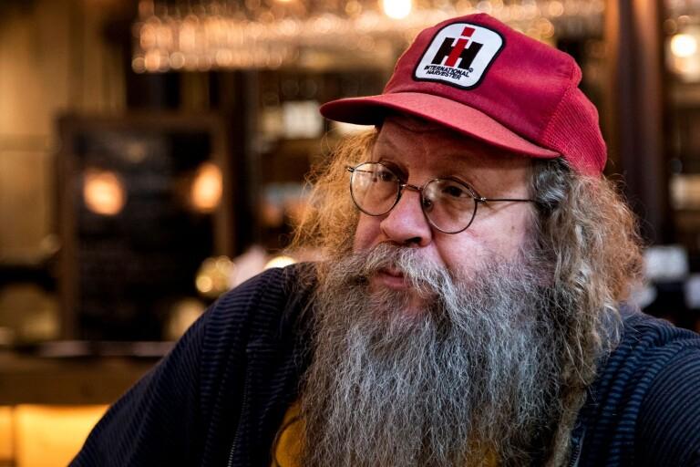 Ulf Andersson arrangerar Klubb Undergrunden på Pumphuset i Borås.