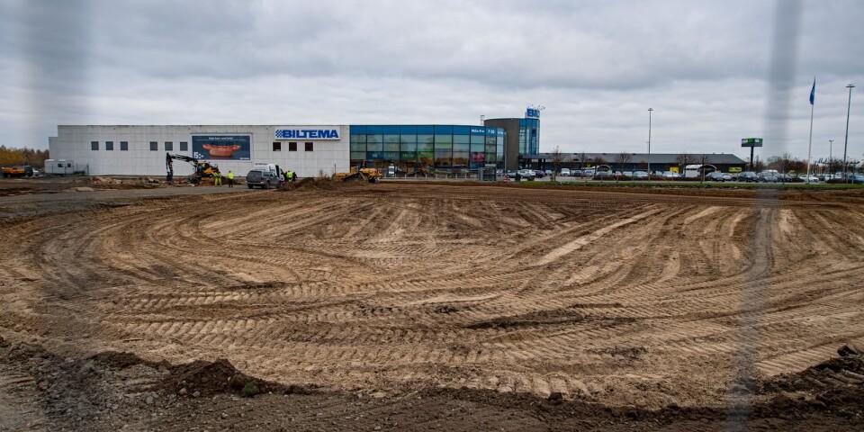 Efter 14 år är det dags att bygga ut varuhuset på Härlöv, från 5 200 kvadratmeter till 9 700 kvadratmeter.