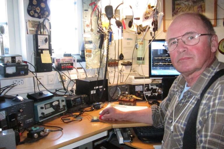 Radioamatörer vid sågen
