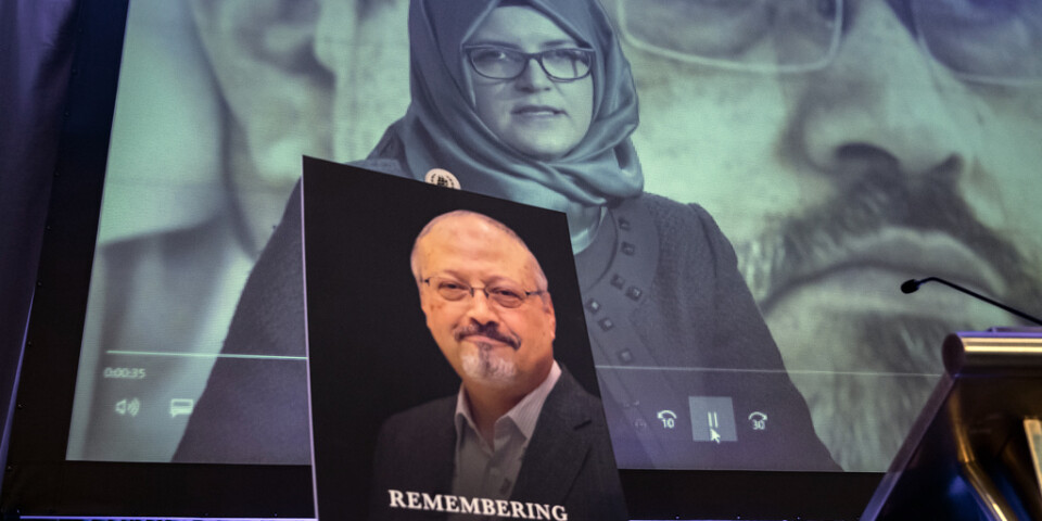 Flera länder kräver i FN:s råd för mänskliga rättigheter att Saudiarabien fortsätter att utreda mordet på författaren Jamal Khashoggi. Arkivbild.