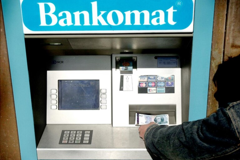 Bankomat.