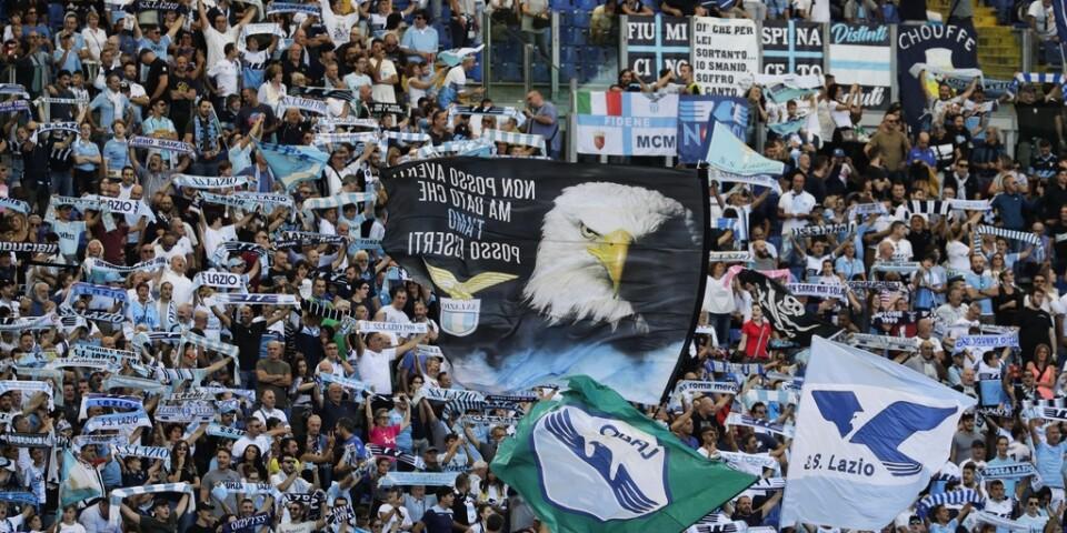 Lazio kräver supportar på pengar. Arkivbild.