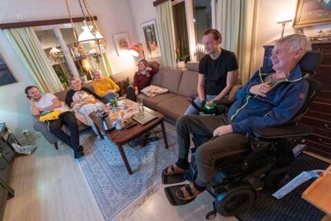 Striden mot ALS utkämpas bäst tillsammans