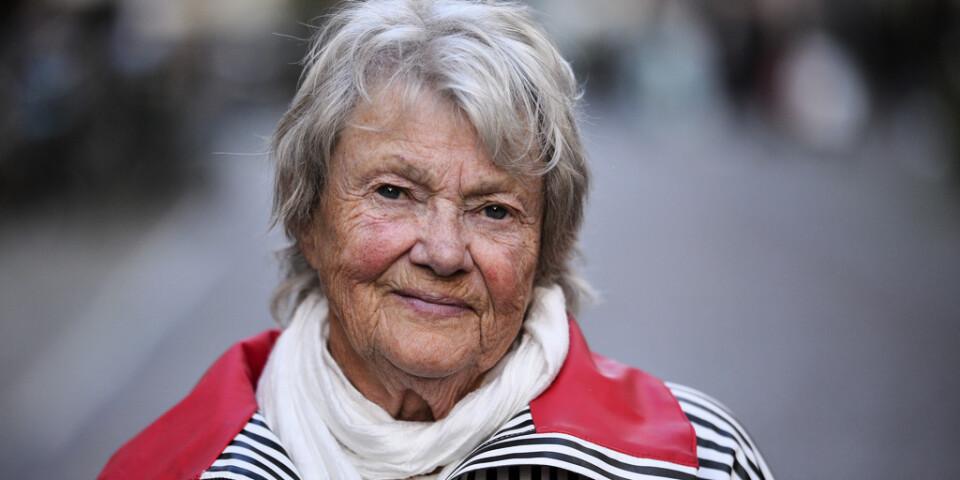 Maj Sjöwall har avlidit efter en lång tids sjukdom. Hon blev 84 år. Arkivbild.