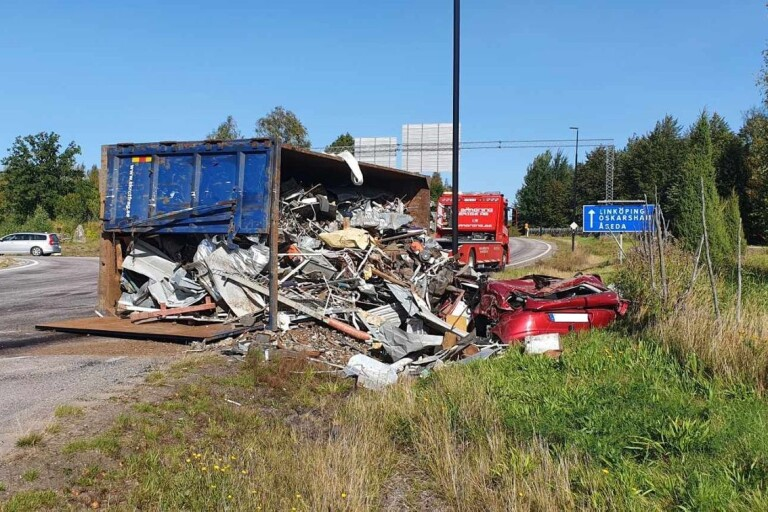 Vårdslöshet i trafik i Växjö