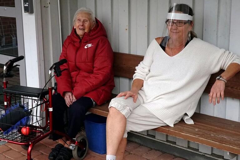 TV: Efter glädjebeskedet – här träffar Olga, 95, dottern